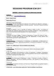 Download the detailed sessions program - Alpha Visa Congrès