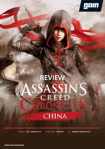 Assassin's Creed Chronicles: China - Review [GAIN Magazin]