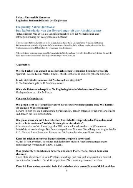 Hinweise Zur Bewerbung Einstellung Zum 01 05 2012 1