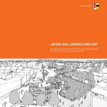"""NEUER WALL/KÖNIGLICHER HOF"" - Stadt Moers"