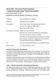 Moers 2030 – Gemeinsam Zukunft gestalten ... - Stadt Moers