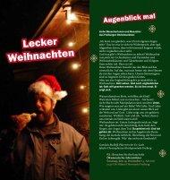 Christmarktflyer 2010 - Ev.-Luth. Jakobi-Christophorus ...