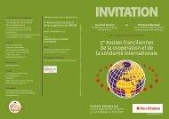 Fiche de présentation - Cités Unies France