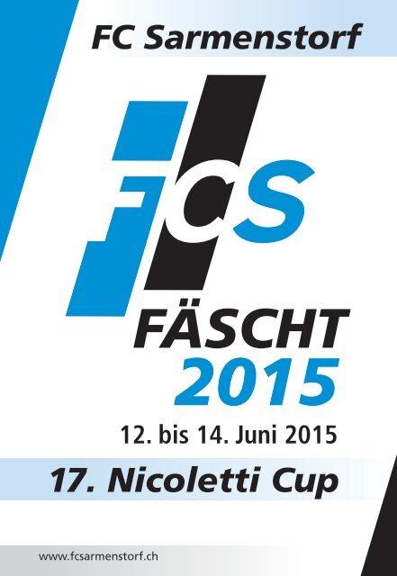 Festführer FCS-Fäscht 2015
