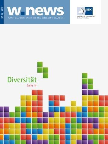 Diversität| w.news 05.2015
