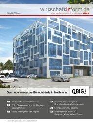Wirtschaftsstandort Heilbronn | wirtschaftinform.de 05.2015