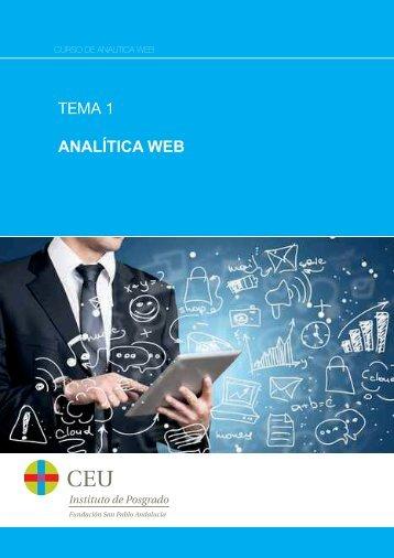 TEMA 1 ANALÍTICA WEB