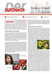 Durchblick 1-2007.pdf - SPD Bürstadt