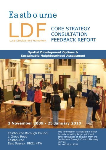 Feedback Report Front Cover copy - the SHRA website