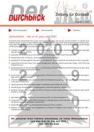 Durchblick 3-2009.pdf - SPD Bürstadt