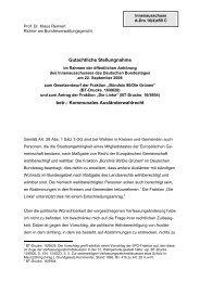 Prof. Dr. Klaus Rennert - Kommunales Wahlrecht für alle