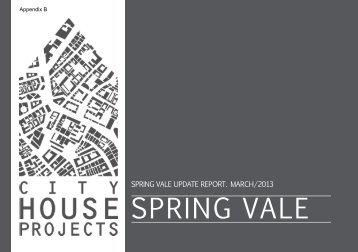 Appendix B: Spring Vale Update Report , item 220. PDF 8 MB