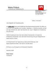 Einladung und Tagesordnung zur Hauptversammlung der ...