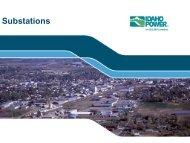 Substations Presentation - Idaho Power