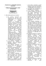 artigos 9.º, 11.º, 12.º, 15.º, 19.º, 21.º, 29.º, 35