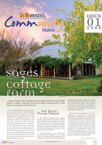 Issue 1 2009 - Menzies Inc.