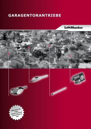 GARAGENTORANTRIEBE - Chamberlain LiftMaster Hersteller von ...
