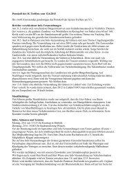 Protokoll des IG Treffens vom 12.6.2013 Die zwölf Anwesenden ...