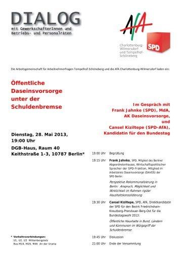 Flyer AfA Dialog 28 Mai 2013 - Gotthard Krupp