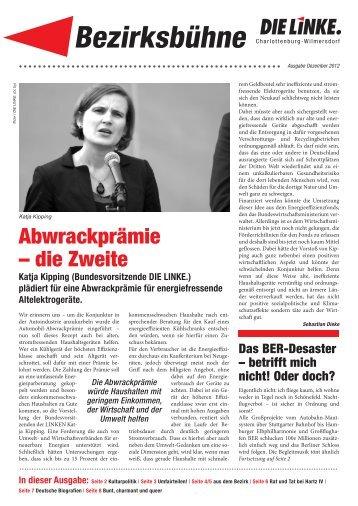 Bezirksbühne - Charlottenburg-Wilmersdorf