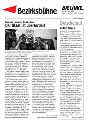 Ausgabe März 2010 - DIE LINKE. Charlottenburg-Wilmersdorf