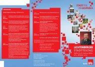Der Einladungsflyer zum Download - Hauptstadt im Gespräch