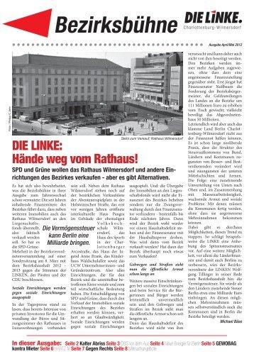 4 5 Bezirksbuehne 2.indd - Charlottenburg-Wilmersdorf