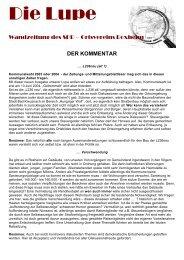 Die Lupe 02.03 - bei der SPD in Roxheim