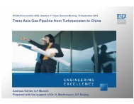 Trans Asia Gas Pipeline from Turkmenistan to China - IPLOCA.com