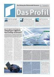 Profil 5/2003 f.r Internet - KSPG AG