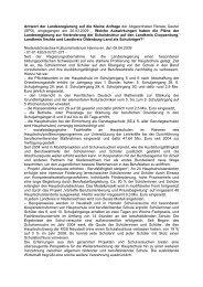Antwort des Kultusministerium - Renate Geuter