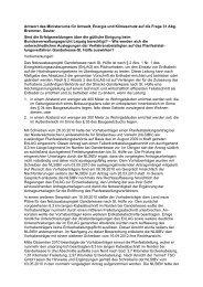 Antwort der Landesregierung - Renate Geuter
