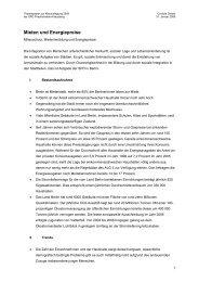 Mieten und Energiepreise - SPD Linke Berlin