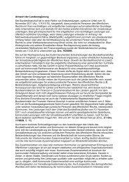 Antwort der Landesregierung Der Bundesfinanzhof ... - Renate Geuter