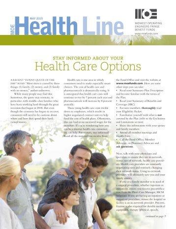 Health Line - May 2015
