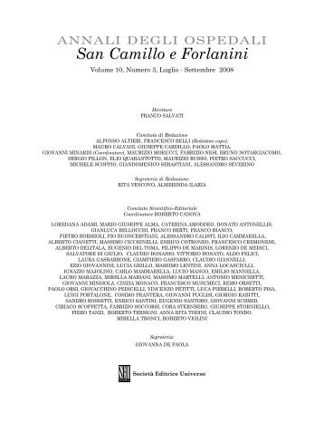 Testo - Azienda Ospedaliera S.Camillo-Forlanini