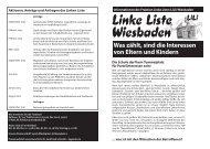 Was zählt, sind die Interessen von Eltern und ... - Mergen-online.de