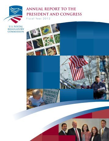 Annual Report for FY 2012 - Postal Regulatory Commission