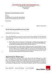 Änderungsantrag zur Offenen Ganztagsschule in der ... - SPD Kall