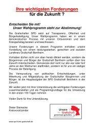 Entscheiden Sie mit - SPD Grafschaft Bentheim