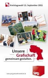 Unsere Grafschaft - SPD Grafschaft Bentheim