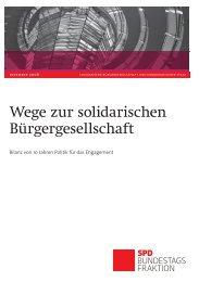 Bilanz von 10 Jahren Politik der SPD-Bundestagsfraktion für das ...