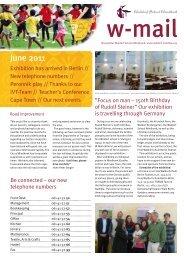 W-mail 06_2011 - Waldorf School Windhoek