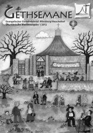 Gethsemane 1/2012 - Gethsemanekirche-wuerzburg.de