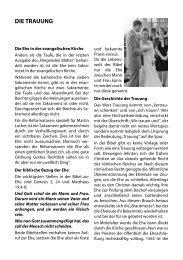 DIE TRAUUNG - Gethsemanekirche-wuerzburg.de