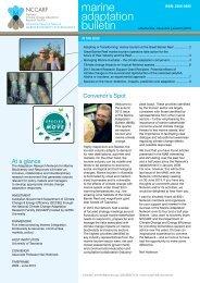 marine adaptation bulletin - ARN-MBR