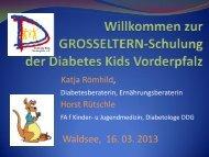 Thema Diabetes Typ 1 bei Kindern und Jugendlichen - Dia-kids ...