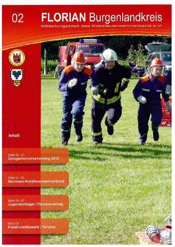 Mitteilungsblatt der Kreisfeuerwehrverbandes Burgenlandkreis e.V. - Heft 02