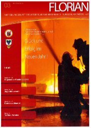 Mitteilungsblatt der Kreisfeuerwehrverbandes Burgenlandkreis e.V. - Heft 03