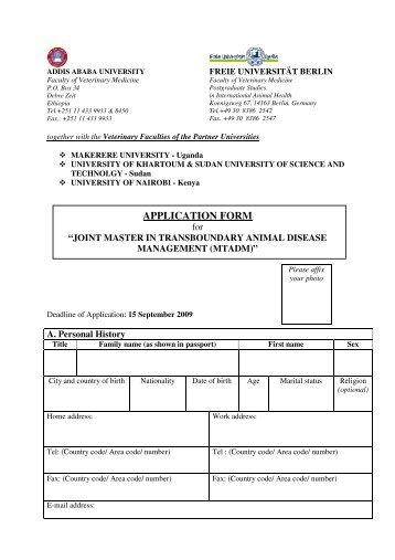 VACANCY ANNOUNCEMENT - Addis Ababa University